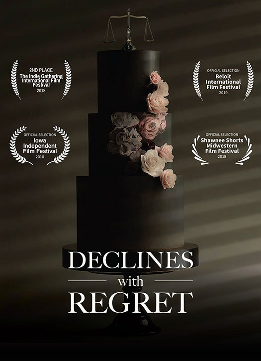 Declines with Regret film poster | Jeremy Silva, Director