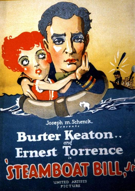 Steamboat Bill Jr. | Buster Keaton